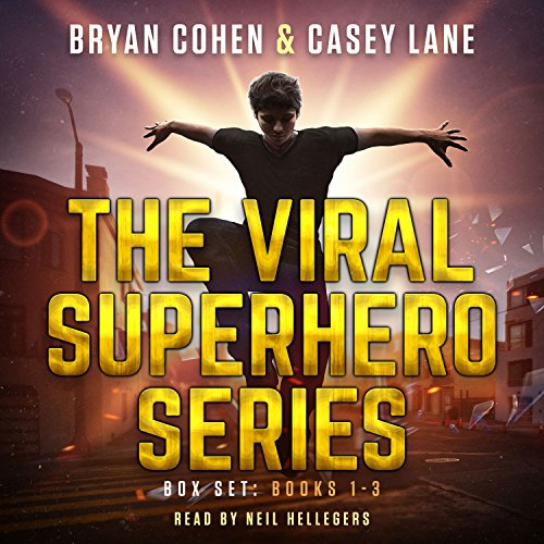 The Viral Superhero Series Box Set: Books 1-3: Viral Superhero Omnibus