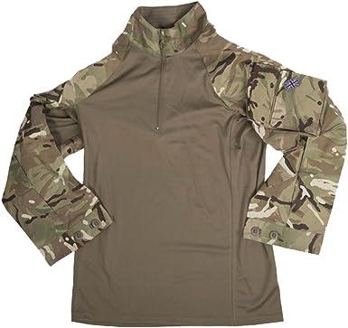Combat Británico Camiseta ubac MTP camuflaje Caqui/verde ...