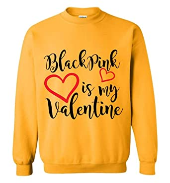 Amazon Com The Incredible Bts Blackpink My Valentine Sweatshirt