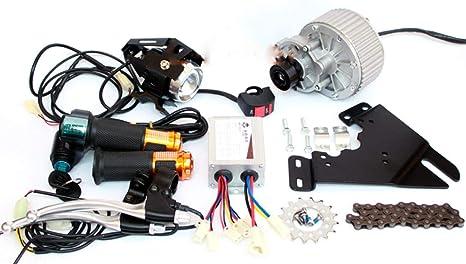 GZFTM Kit Conversión 450 W para Freno a Disco de 44 mm Bicicleta ...