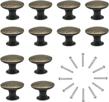 Pomelli Per Porta 12 Pezzi Manopole Per Mobili Da Cucina Pomelli Per Mobili Vintage Shabby Pomelli Per Cassetti Cucina Armadio Antichi Amazon It Fai Da Te