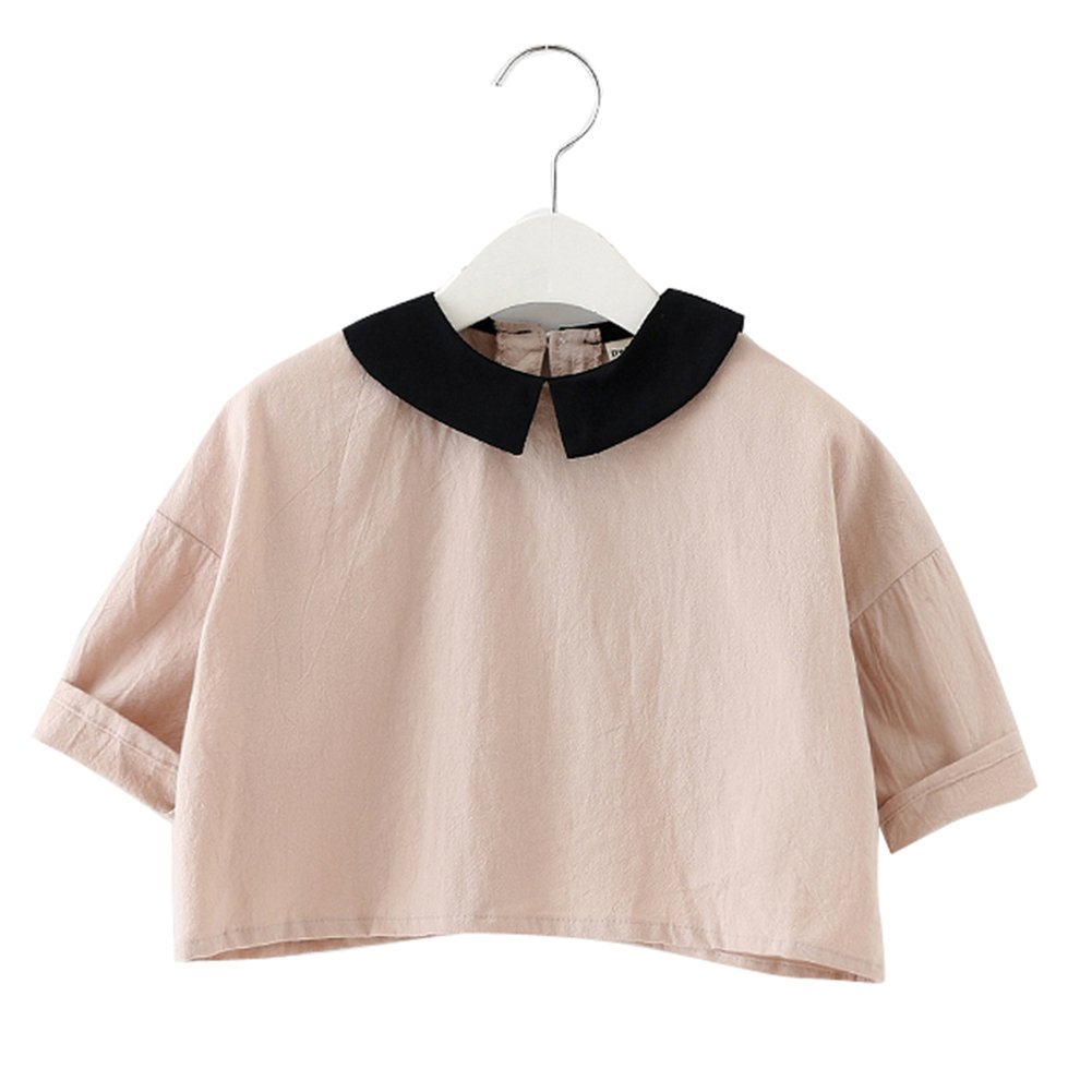 XUNYU Baby Girls Cotton Long Sleeve T Shirt Blouse Tops Bottom Tee Infant Toddler MR1462K98