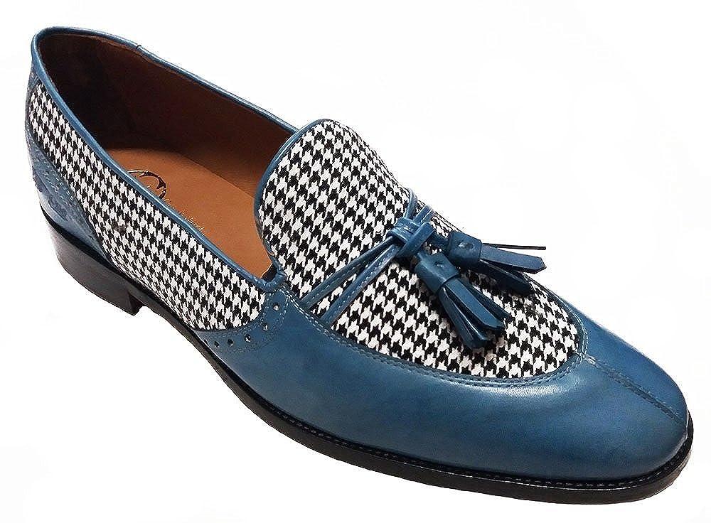 Garofalo Gianbattista - Mocasines para hombre Azul azul claro 47 EU