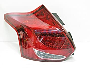 Ford Focus MK3 haz tipo LED cola luces lámparas rojo blanco 2013 - 2015 2013 2014 2015: Amazon.es: Coche y moto