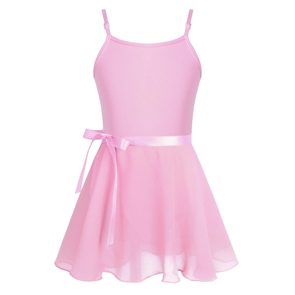 Freebily APPAREL ベビーガールズ ガールズ B07GWH2BQ8 12--14|Pink(camisole) Pink(camisole) 12--14