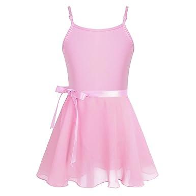 Freebily Conjunto Vestido Maillot de Danza Ballet Falda Tutú para ...