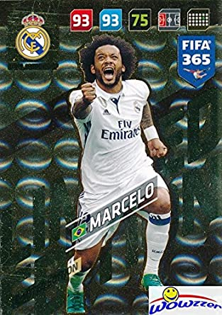 PANINI ADRENALYN XL FIFA 365 2018-Marcelo Limited Edition