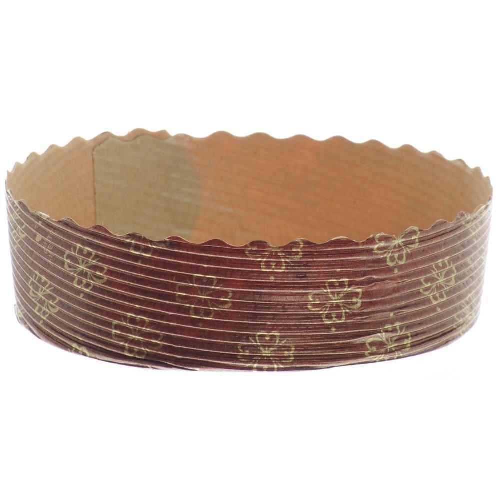 Ovenable Paper Baking Mini Pie Mold 4''Dia x 1 1/8''H