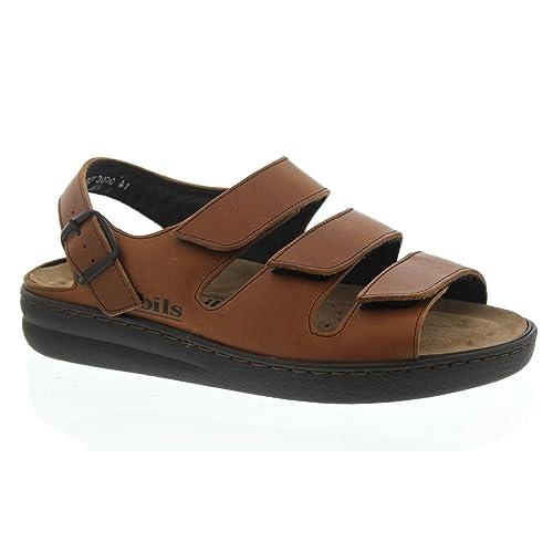 cc6a580e64f Mephisto Jack - Sandalias de vestir de Piel para hombre marrón marrón 15