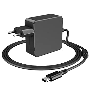 Ponkor 65W USB Type C Adaptador Cargador Rápido para Apple MacBook Pro, Lenovo, ASUS, Acer, DELL, Xiaomi, Huawei Matebook, HP Spectre, Thinkpad ...