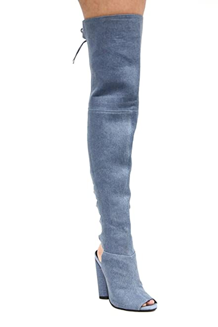 Damens Cape Robbin Thigh High Over the the Over Knee High Heel ... 44c788