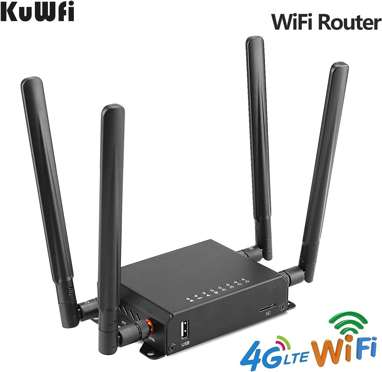 KuWFi 300Mbps 3G 4G LTE Coche WiFi Antena Externa inalámbrica ...