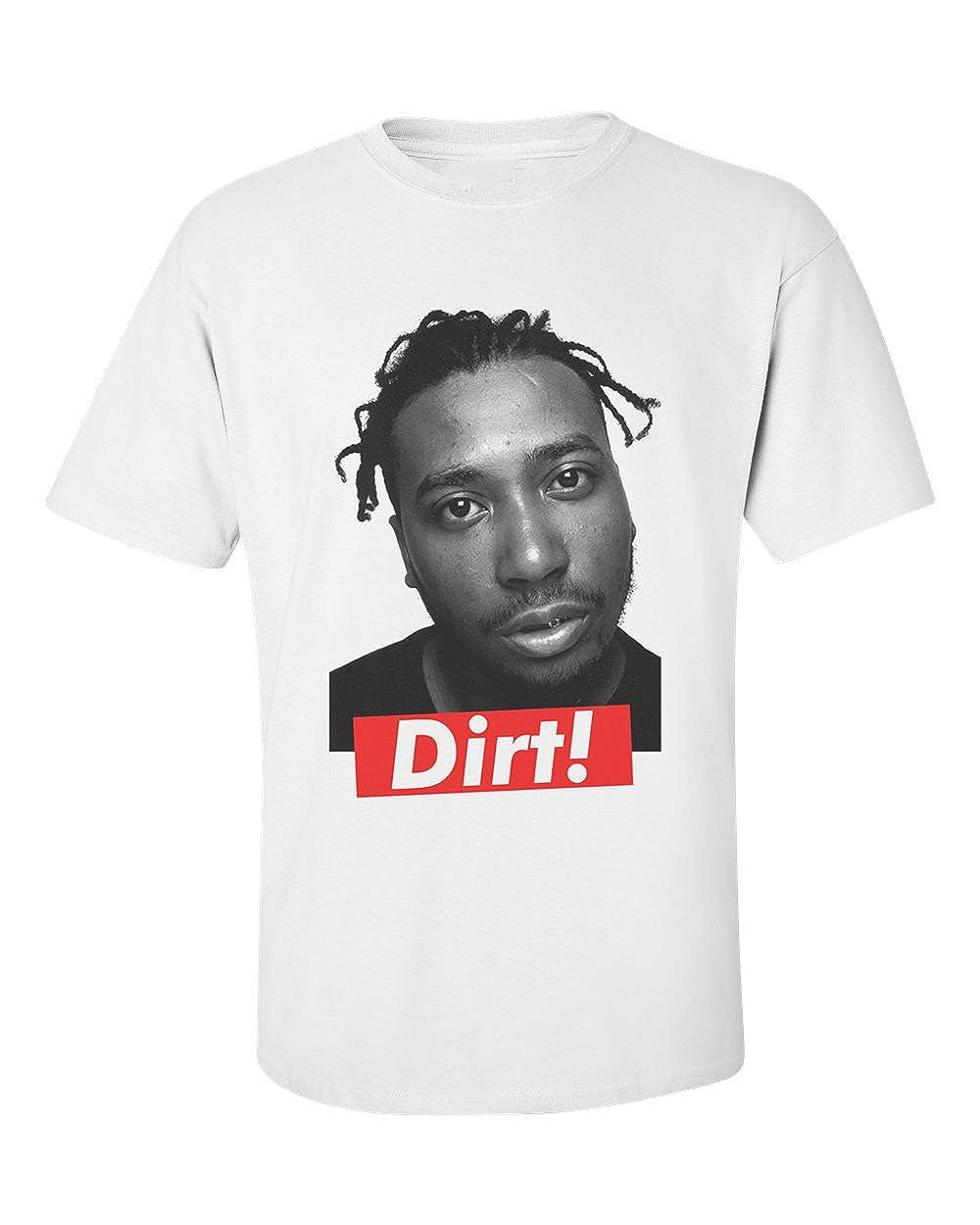 Actual Fact ODB Wu Tang Clan Dirt Black White Crew Neck Tee T-Shirt