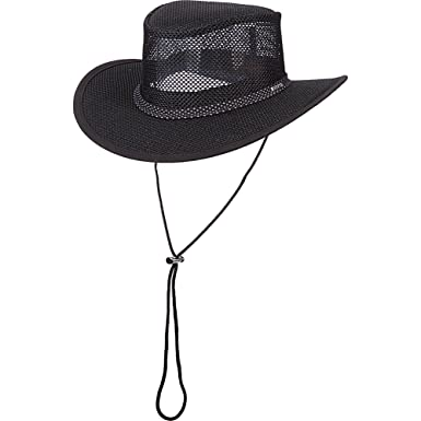 1bc8fa18e259c1 Image Unavailable. Image not available for. Color: Stetson Outdoor Men's  Mesh Covered Safari Hat ...