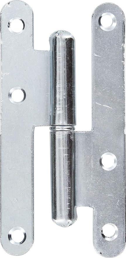 Mermier 729815 Paumelle de paris 110x55 gauche z Non Concern/é