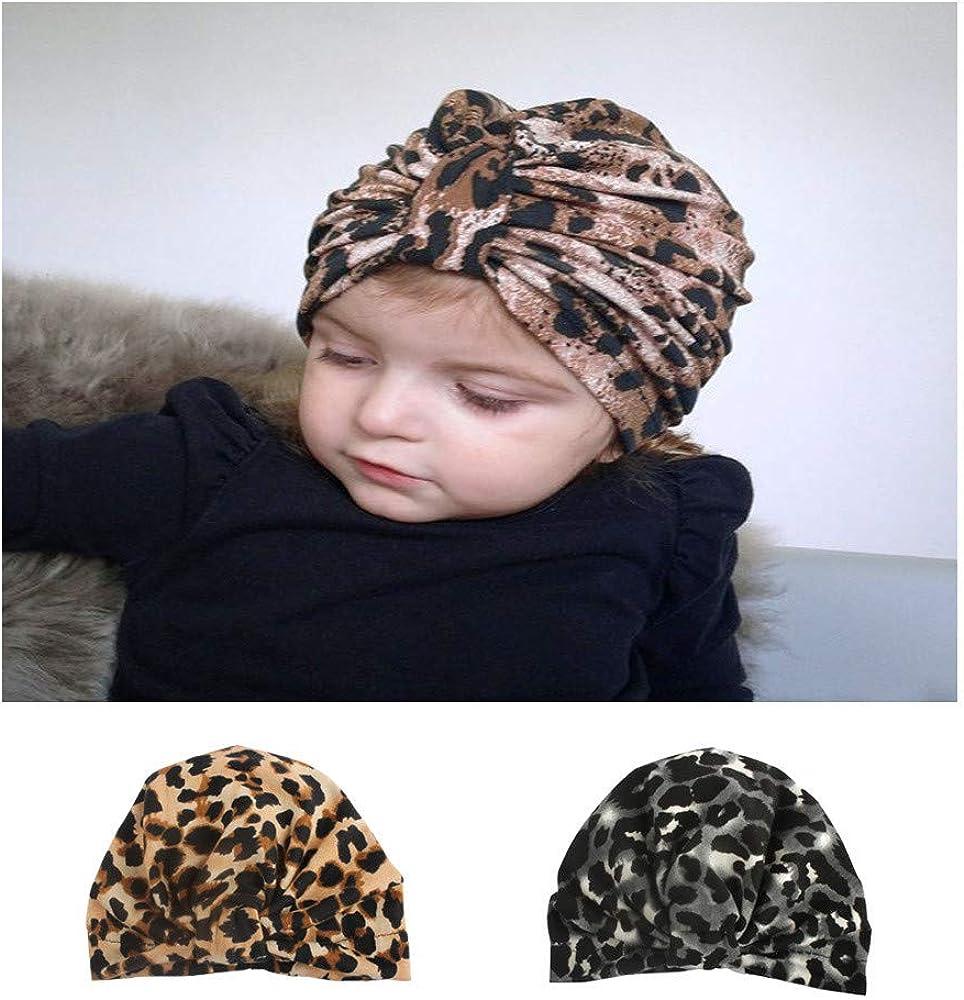 Finebo Unisex Design Headband Baby Baby Super Elastic Loose Net Red Leopard Child Headgear for/Christmas Casual Birthday Festival Photo Studio