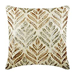 Silk Cushion Cover With Sequins