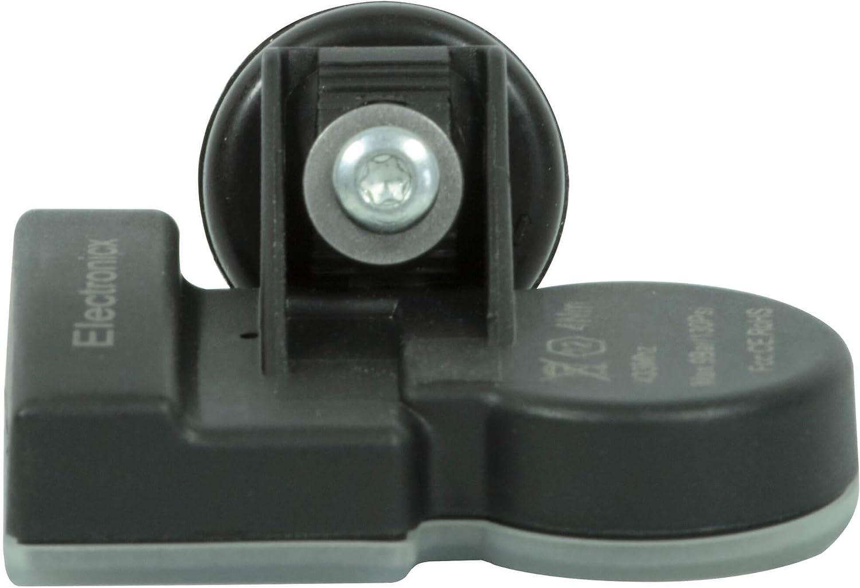 4x RDKS TPMS Reifendrucksensor Reifendruckkontrollsystem Gummiventil passend f/ür Elantra Grandeur i30 Ioniq Kona K5 Niro