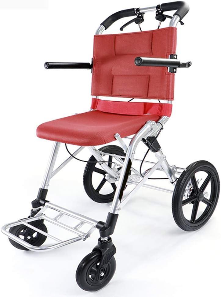 八瀬・王 医療リハビリテーション椅子、車椅子、軽量折りたたみ車椅子ドライビング医療アダルト医療用品、障害者安全マニュアル車いすポータブル高齢者の旅行車いす