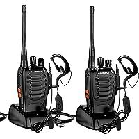 StillCool Walkie Talkie Profesionales Recargable16 Canales Dispositivo de Radio BF-888S 1500 mAh con Recepción de Radio…