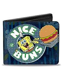 Buckle-Down Wallet Sponge Bob Nice Buns Accessory