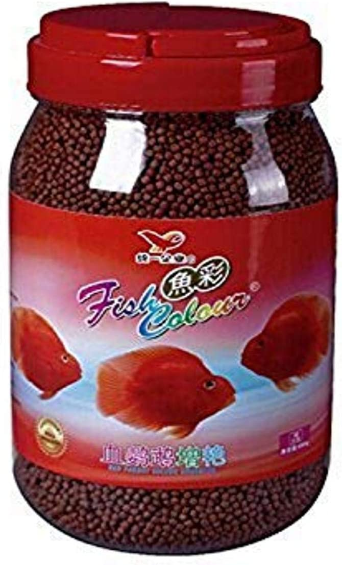 Fish Colour Color Enhancing Red Parrot & Cichlid Fish Feed Food