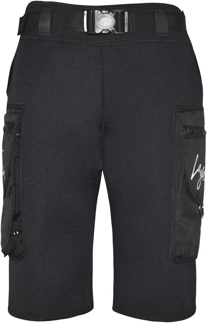 LayaTone Traje Neopreno Buceo Hombres Pantalones Cortos Buceo Neopreno 3mm Hombres Pantalones Neorpeno Pesca Submarina Surf Kayak Traje da Buceo