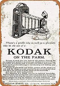 MiMiTee Kodak on The Farm Cartel De Chapa Placa Metal ...
