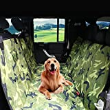 Paws Up Dog Car Seat Covers Pet Seat Cover for Cars, Trucks, and Suvs – Camouflage, Nonslip Rubber,100% WaterProof, Hammock Convertible(X-LARGE)