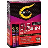 Best Celsius Weight Loss Drinks - Celsius Flo Fusion - Powder Sticks - Berry Review