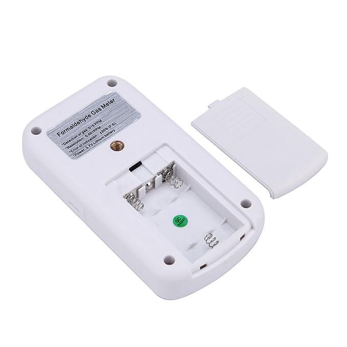 Prueba de Detector de monitores de formaldehído portátil de precisión (Color: Blanco): Amazon.es: Bricolaje y herramientas