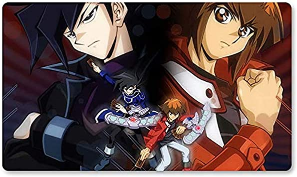 Jun & Judai (Chazz & J - Juego de Mesa Yugioh Playmat Juegos Tapete de Mesa Mousepad MTG Play Mat para Yu-Gi-Oh! Mon Magic The Gathering 30X80CM: Amazon.es: Electrónica