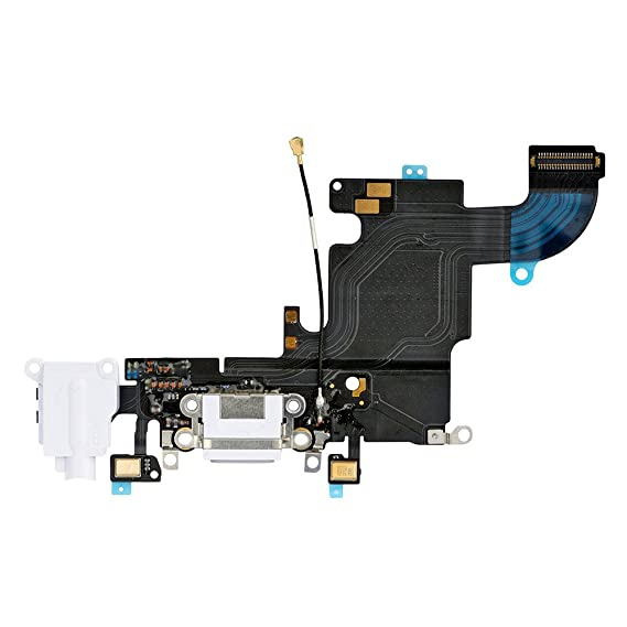 huge discount 03e81 b32ac LUVSS New Dock Connector Charger Flex Replacement for iPhone 6S 4.7 Inches  USB Port Charging Flex Cable with Mic, Headphone Audio Jack Assembly Repair  ...