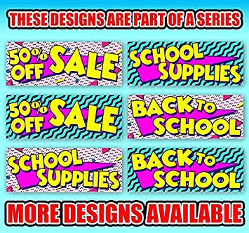 Flag, Advertising School Supplies 13 oz Heavy Duty Vinyl Banner Sign with Metal Grommets Store Many Sizes Available New