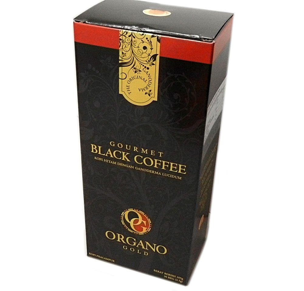 Organo Gold 3 Black Coffee 30s & 3 Latte 20s (6 Boxes Total) by Organo Gold