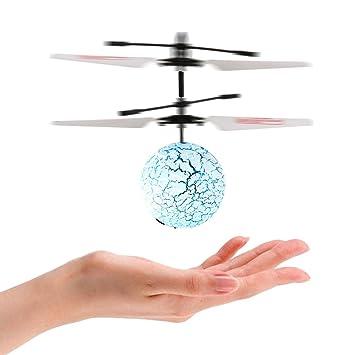 Acefun RC Flying Balls mano inducida vuelo con luces LED, RC Drone ...
