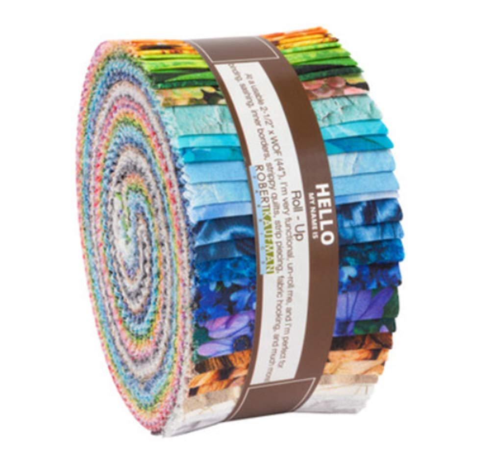 Imaginings Roll Up 40 2.5-inch Strips Jelly Roll Robert Kaufman Fabrics RU-854-40