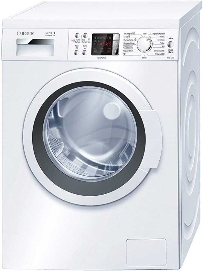 Bosch WAQ24468ES - Lavadora De Carga Frontal Waq24468Es De 8 Kg Y ...