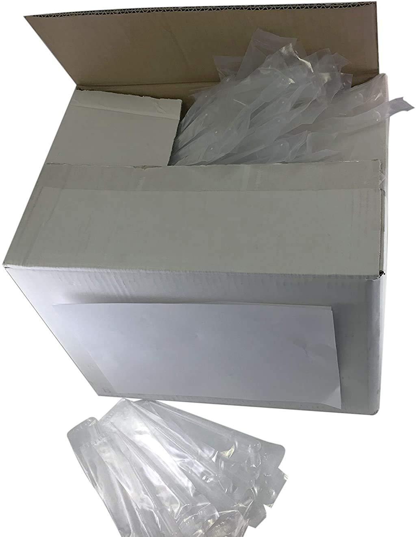 Sponix BioRx Transfer Plastic Pipettes Non-Sterile 12 pcs Graduated to 3 mL Large Bulb 7 mL Capacity