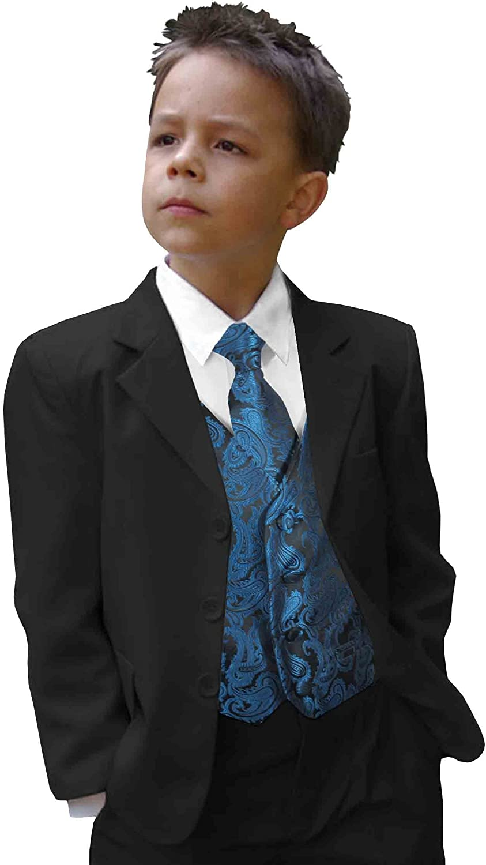 Jungen Anzug/Kinder Anzug festlich blau Petrol Hochzeit