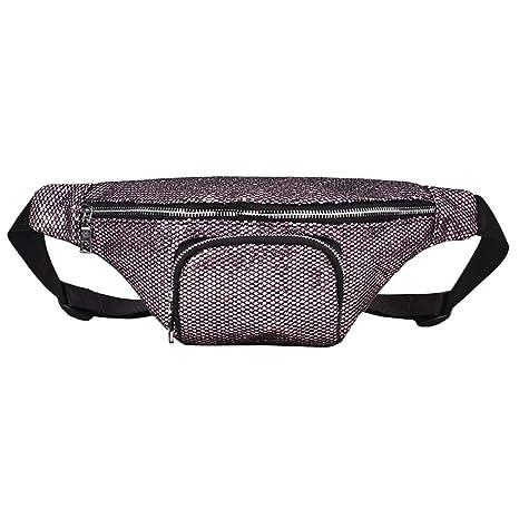 Paillette Bauchtasche Gürteltasche Tasche Hüfttasche Reisetasche Sport Tasche
