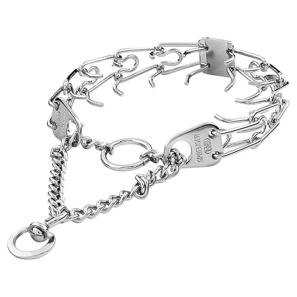 Herm Sprenger Heavyweight Prong Collar, 22 inches, Stainless Steel by Herm Sprenger