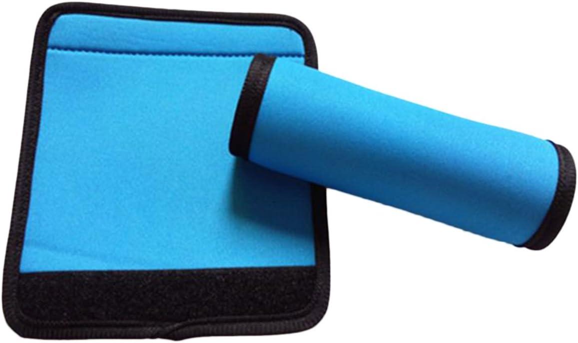outgeek Maniglia per Bagagli Avvolgere 5PCS Maniglia Portatile Impugnatura Impugnatura Bagaglio Maniglia Copri Maniglia Impugnatura