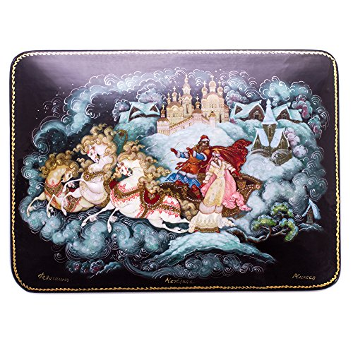 Hand Rendering - Troika Palekh Lacquer Box for Storage