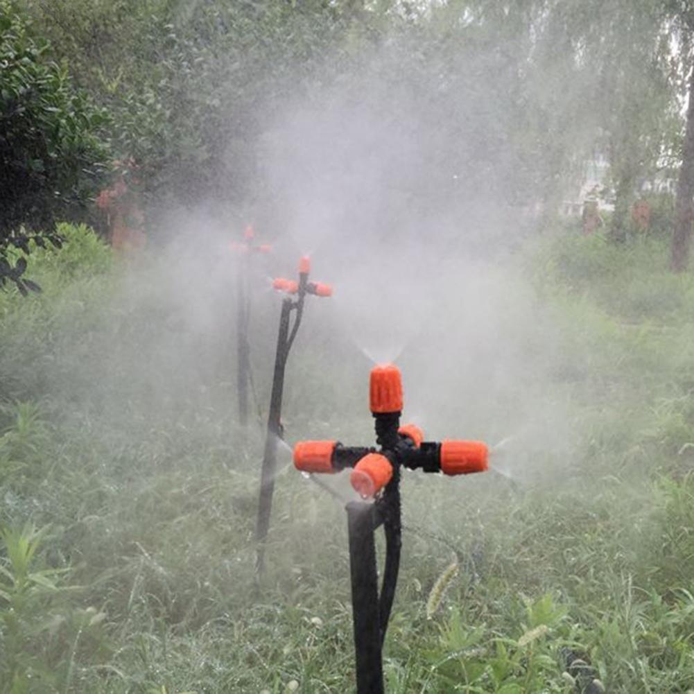 Boquilla de Niebla Ajustable con 5 Cabezales para Invernadero Adaptador de aspersor autom/ático para jardiner/ía Danigrefinb