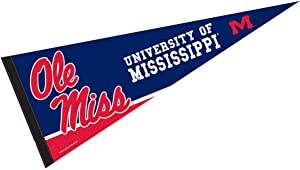 College Flags & Banners Co. Ole Miss Pennant Full Size Felt