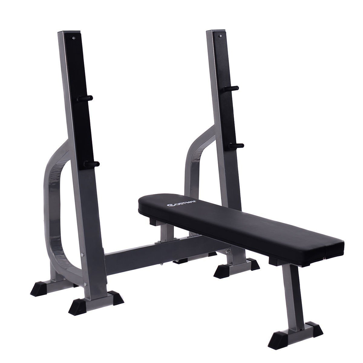 Costway Weight Lifting Flat Bench Fitness Workout Sit Up Board Home Exercise Gym