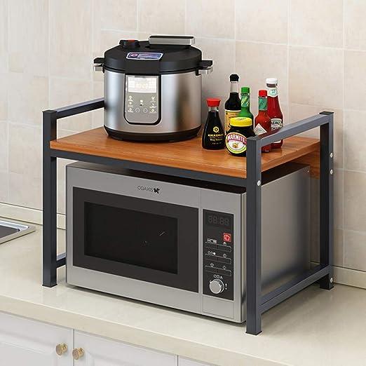 ZXCC Cocina Soporte Estantería De Cocina, Utilidad ...