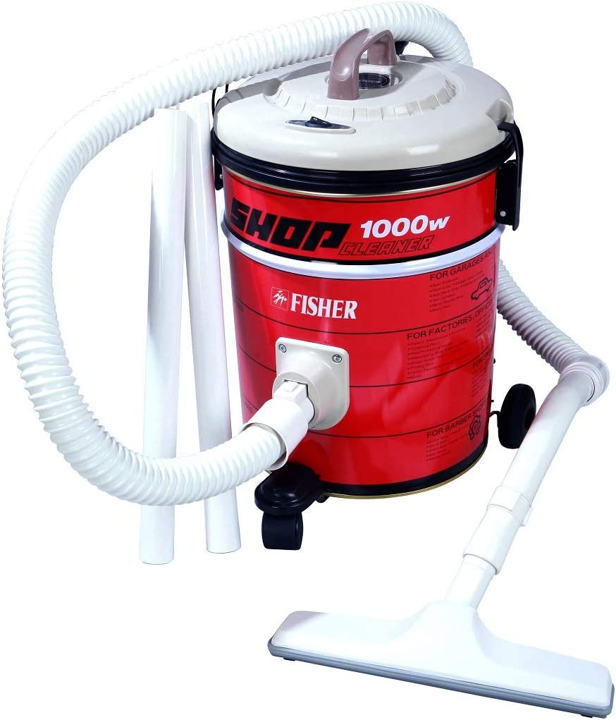 Fisher 1000W 10L Vacuum Cleaner Drum- BSC-500
