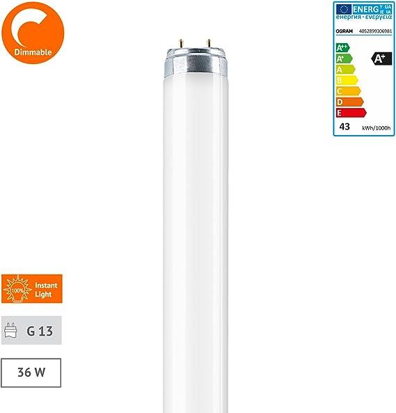 18 W Osram L W//840 G13 Bianco 60cm di lunghezza 18 unit/à